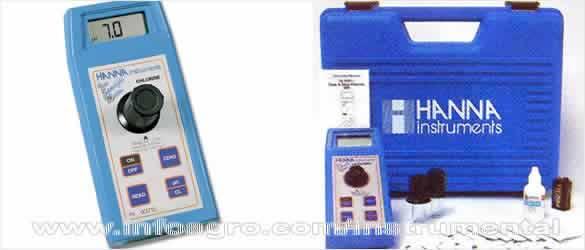 medidor de cido cian rico cloro libre y total y ph