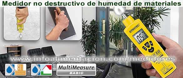 Medidor no destructivo de humedad en paredes y suelos bm30 - Como tratar la humedad en las paredes ...
