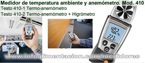 Medidor de control ambiental temperatura humedad y - Medidor de temperatura ...